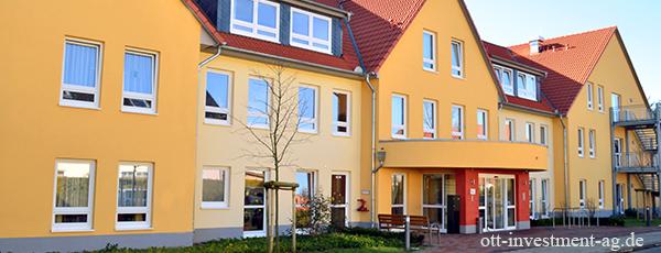 Pflegeappartements als krisensichere Kapitalanlage Pflegewohnung als Geldanlage von Ott Investment AG Schlüsselfeld