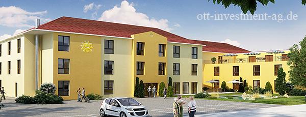 Pflegeimmobilie Geldanlage Pflegeheim Harxheim Mainz Kapitalanlage Remax Nürnberg Immobilienlounge