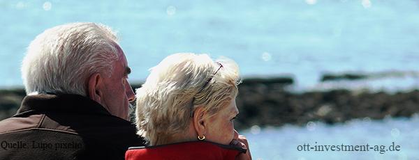 Viele Senioren wohnen nicht altersgerecht Pflegeimmobilie Geldanlage Ott Investment AG Schlüsselfeld Rainer Ott