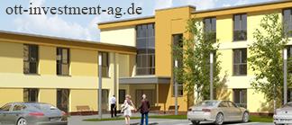 Pflegeimmobilie Geldanlage Übersicht Seniorenresidenz Ranstadt Hessen Ott Investment AG Erfahrungen Schlüsselfeld Wirtschaftshaus Immac Ott GmbH