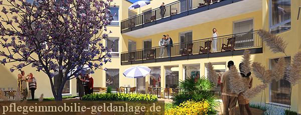 Seniorenzentrum Küpper Carree Dinslaken Hiesfeld Pflegeimmobilie Pflegewohnung wi curata care ruhrgebiet