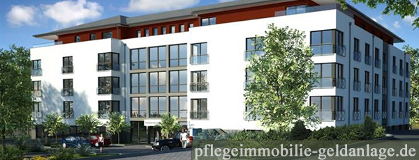 Pflegeimmobilie Seniorenpark Heiligenhaus Nordrhein Westfalen Kapitalanlage Geldanlage Ott Investment AG Vermittlung von Kapitalanlagen Schlüsselfeld