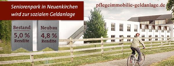 Seniorenpark Neuenkirchen Bremen Pflegeimmobilie Pflegeheim Pflegewohnung Geldanlage 2016