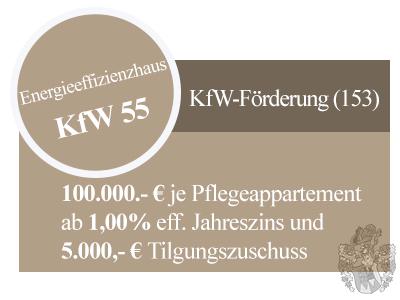 Pflegeimmobilie Freiensteinau Werbung KfW 55 KfW Darlehen Tilgungszuschuss Vermittlung Ott Investment AG Schlüsselfeld