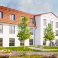 Pflegeimmobilie Porta Westfalica Nordrhein Westfalen KfW 40 Lebens Gesundheitszentrum kaufen Ott Investment AG WH Wirtschaftshaus