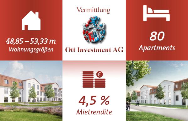 Pflegeimmobilien Geldanlage Vermittlung Ott Investment AG Porta Westfalica Pflegeheim