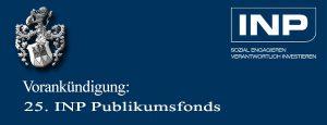 25 INP Publikumsfonds AIF Vorankündigung Pflegefonds