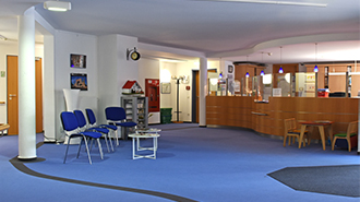 Pflegeheim Gersfeld bei Fulda Empfangsbereich Erdgeschoss