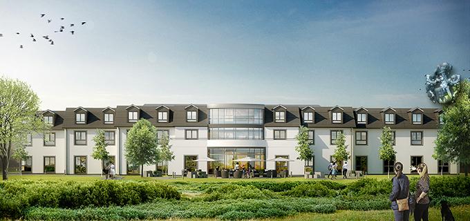 Pflegeimmobilie Unna Hemmerde Westfalen Bürgerhilfe Seniorenwohnen Wirtschaftshaus Ott Investment AG