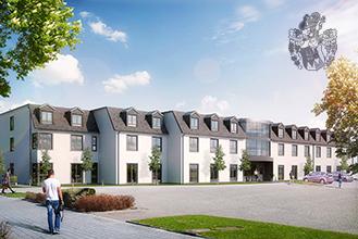 Pflegewohnungen Unna Hemmerde rechts Investment Immobilienanlage Ott Investment AG Rewos GmbH Solaranlage