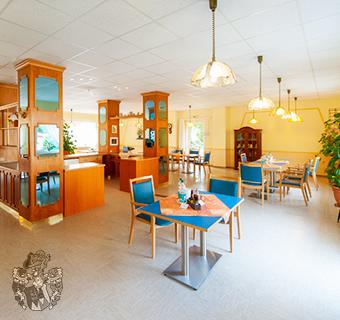 Pflegewohnung Langelsheim Speisesaal Innenansicht Invest Pflege Pflegekräfte