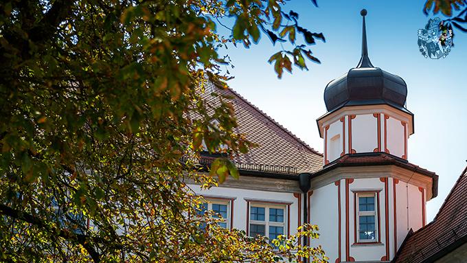 Turm Schloss Immobilie Bavaria Wappen