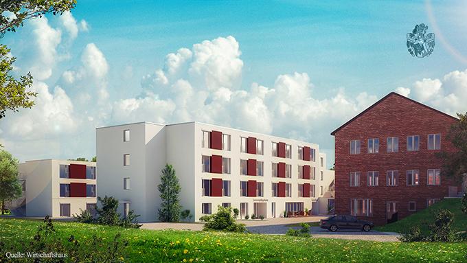 Pflegeimmobilie Bochum Wattenscheid NRW Kohlenpott Ruhrgebiet Vermittlung durch Ott Investment AG Schlüsselfeld Wirtschaftshaus