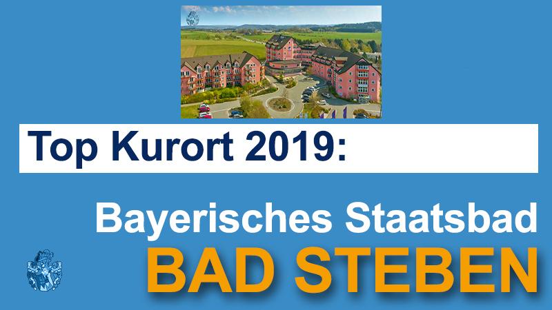 Bad Steben Top Kurort 2019 bayerische Staatsbad Alexander Humboldt Klinik Pflegeimmobilie Pflegeheim