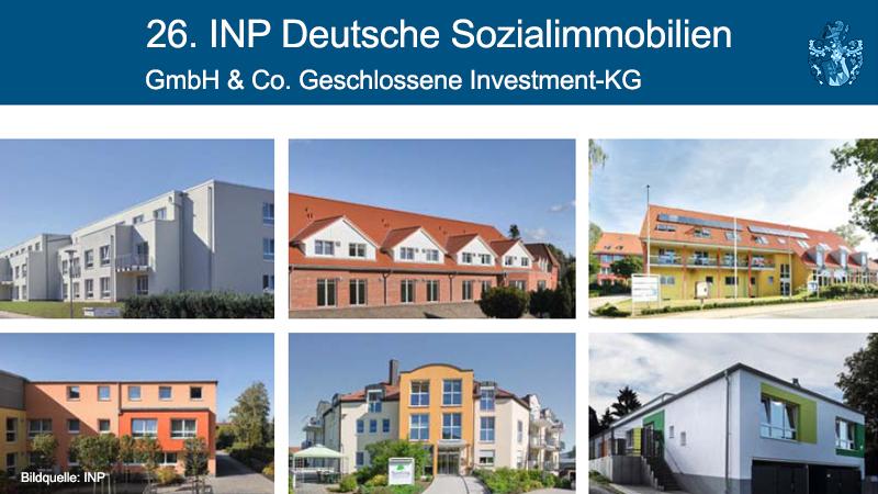 26. INP Deutsche Sozialimmobilien Pflegefonds Pflegeheimfonds Vermittlung Ott Investment AG