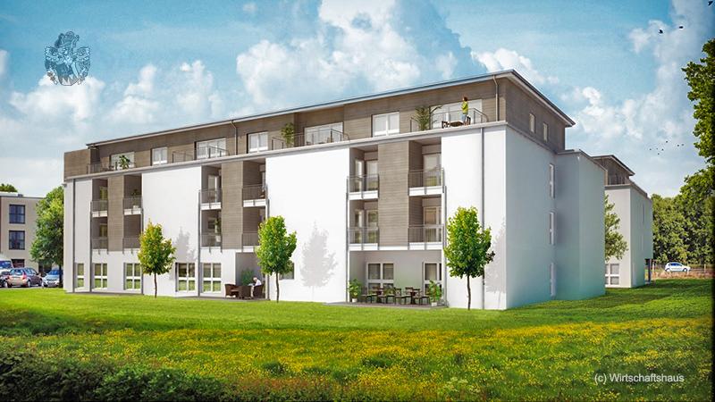 Betreutes Wohnen Bünde Altersheim Wohnung Immobilie Senioren WH Care WH Ott