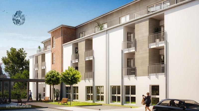 Betreutes Wohnen Bünde Kapitalanlage Haus Illumina Einzelzimmer Pflege