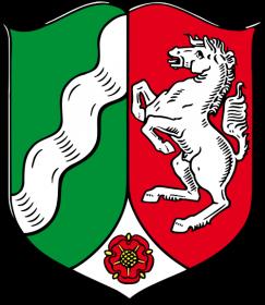 Wappen Nordrhein Westfalen Logo Pflegeimmobilie