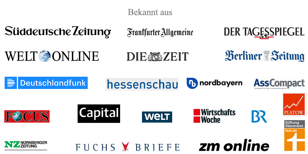 Fachzeitschriften Interviews mit Rainer Ott