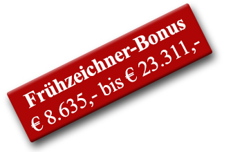 Frühzeichnerbonus Pflegeappartements Göttingen Sparen
