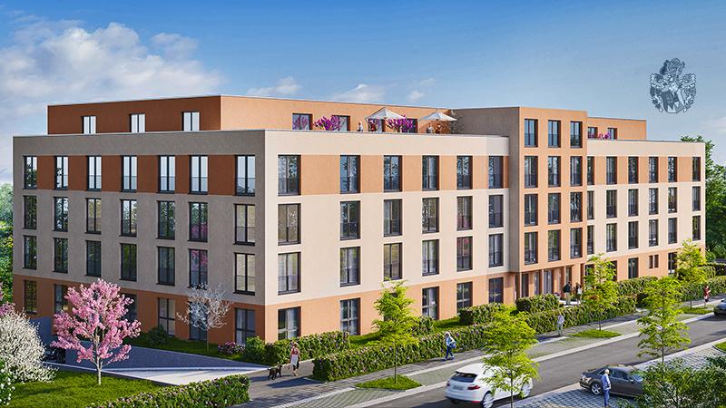 Pflegeimmobilie Coburg Bayern Oberfranken Betreiber Compassio Einbettzimmer Ott Investment AG