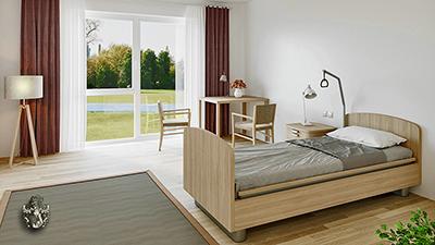 Pflegeappartement Unterammergau Pflegezimmer Bayern