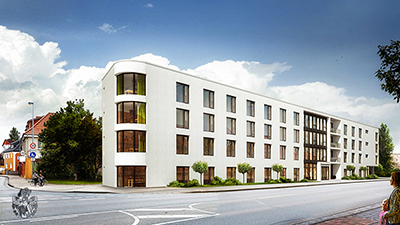 Pflegeheimbewohner ziehen um Neues Pflegeheim als Ersatzneubau in Celle