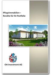 Infobroschüre Pflegeimmobilien Rendite für ihr Portfolio Info Broschüre Erfahrungen mit Pflegeappartements