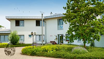 Aussenansicht Pflegewohnungen Pflegeheim Bedburg Pflegezentrum Pro8