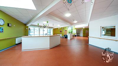 Eingangsbereich Pflegeappartements Bedburg PRO8 NRW Wertinvestition