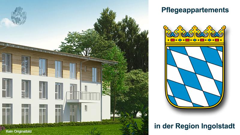 Pflegeappartements Bayern Region Ingolstadt Pflegeimmobilie Geldanlage Kapitalanlage Ott Investment AG