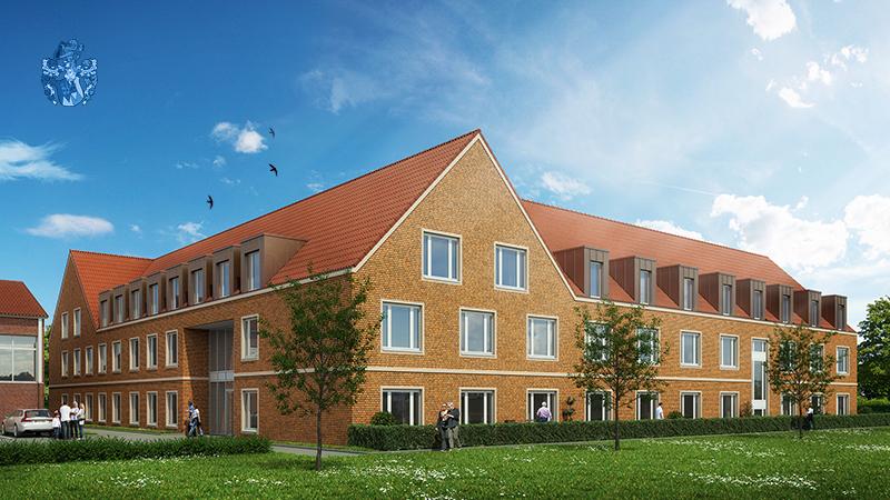 Pflegezentrum am Rathaus Velen NRW Nordrhein Westfalen Pflegewohnung Vermittlung Ott Investment AG La Vida