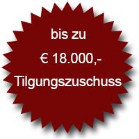 KfW-55-Förderung 18.000 Euro Tilgungszuschuss