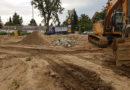 Baustelle Erdarbeiten Novita Seniorenzentrum Altdorf Bayern