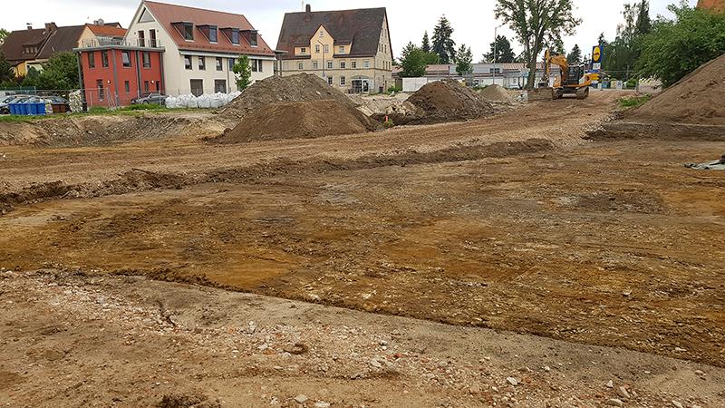 Baustelle Novita Seniorenzentrum Altdorf bei Nürnberg