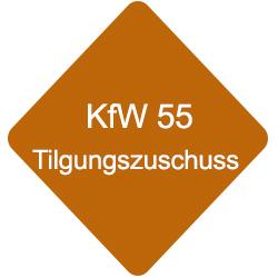 KfW 55 Tilgungszuschuss