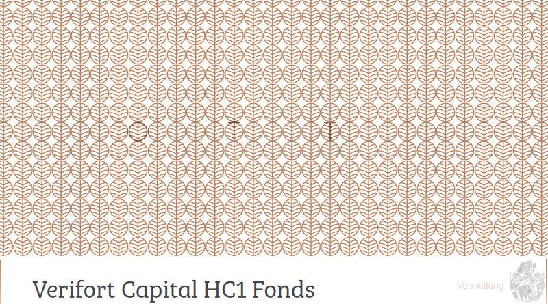 Artikel Cover HC1 Fonds von Verifort Ott Kapitalanlagen