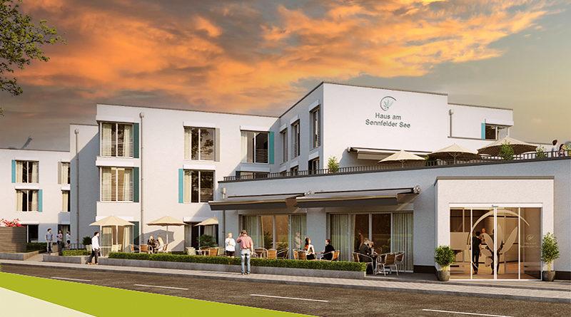 Pflegeimmobilie Sennfeld Schweinfurt Abendrot